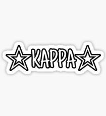 Pegatina Kappa