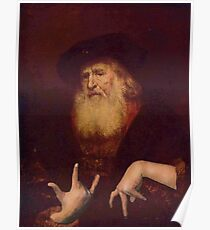 Rembrandt From Da Hood Poster