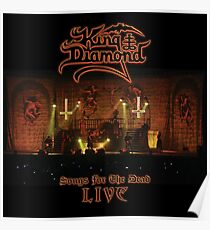 King Diamond - Songs from the dead LIVE Poster