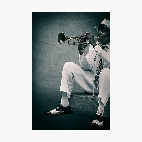 Cuba - Trumpet - Musician 2 Photographic Print