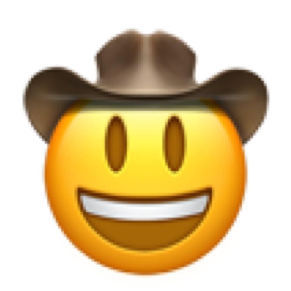 Cowboy Emoji  by JamesQuentin