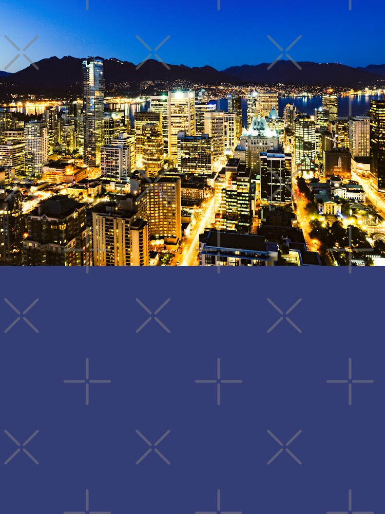 1374 Twilight Evening Vancouver British Columbia Canada by neptuneimages