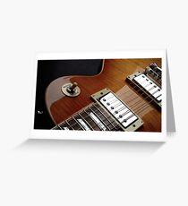 Guitar Icon : '59 Flametop Les Paul Greeting Card