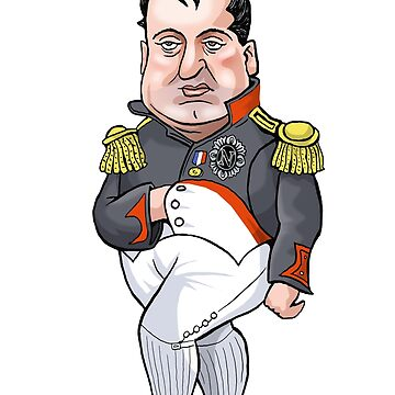 Napoleon Bonaparte by MacKaycartoons