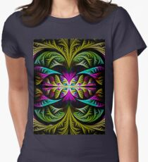 elliptic journey Womens Fitted T-Shirt