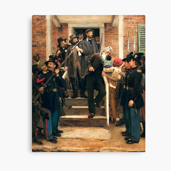 The Last Moments of John Brown - Thomas Hovenden Canvas Print