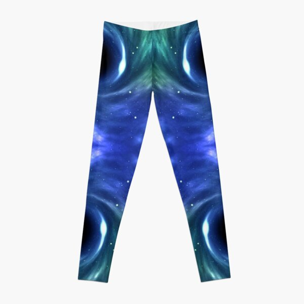abstract, fantasy, futuristic, art, illustration, pattern, design, bright, shape, chaos, forthcoming, vertical, textured, large, backgrounds, paranormal, etheral Leggings