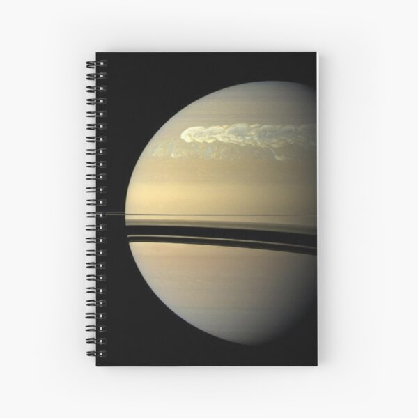 astronomy, sphere, solar system, space, astrology, satellite, eclipse, atmosphere, planet - space Spiral Notebook