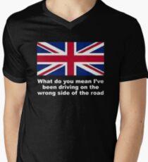 UK Travellers Men's V-Neck T-Shirt