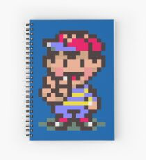 Ness - Earthbound Spiral Notebook