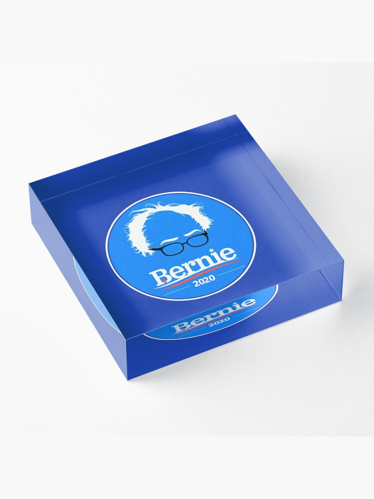Alternate view of Bernie 2020 Acrylic Block