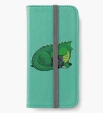 D20 Green Dragon iPhone Wallet/Case/Skin