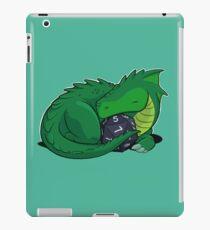 D20 Green Dragon iPad Case/Skin