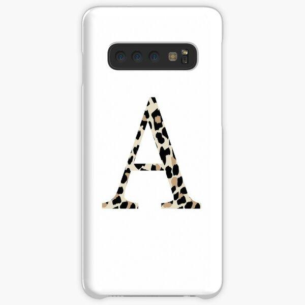 Alpha, A - Cheetah Print / Leopard Print Samsung Galaxy Snap Case