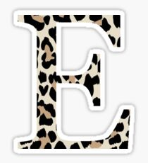 Cheetah Print Epsilon Sticker