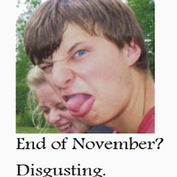 disgusting. by EndofNovember