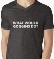 What Would Goggins Do? Men's V-Neck T-Shirt