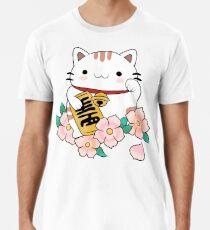 Lucky Cat Men's Premium T-Shirt