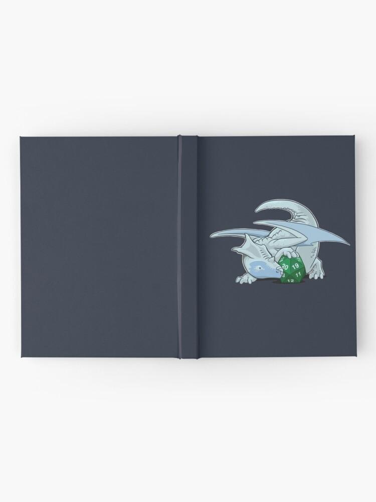 Alternate view of D20 White Dragon Hardcover Journal