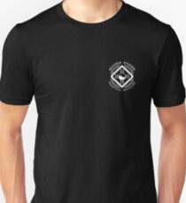 Guided Chaos trademarked black T-shirts Unisex T-Shirt
