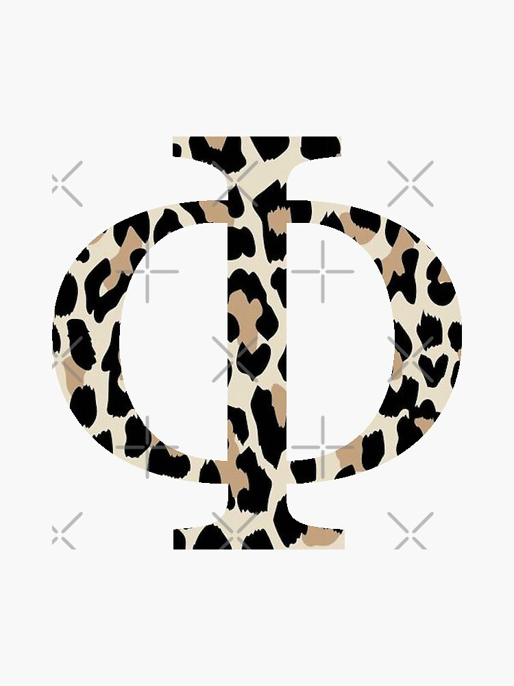 Phi - Cheetah Print / Leopard Print by jessicaschaub
