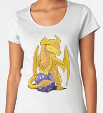 D20 Gold Dragon Women's Premium T-Shirt