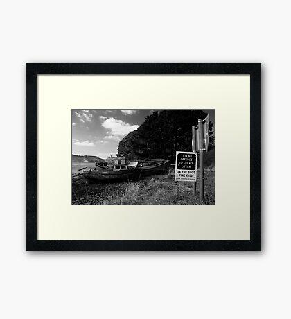 On The Spot Fine Framed Print