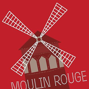 Red Moulin by elisc