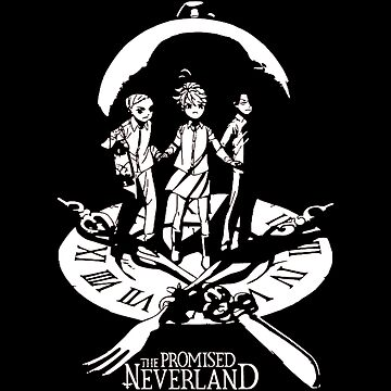 The Promised Neverland Emma Ray and Norman by OtakuPapercraft