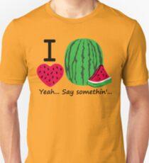 I Lubba Watermelon Third Culture Series Slim Fit T-Shirt