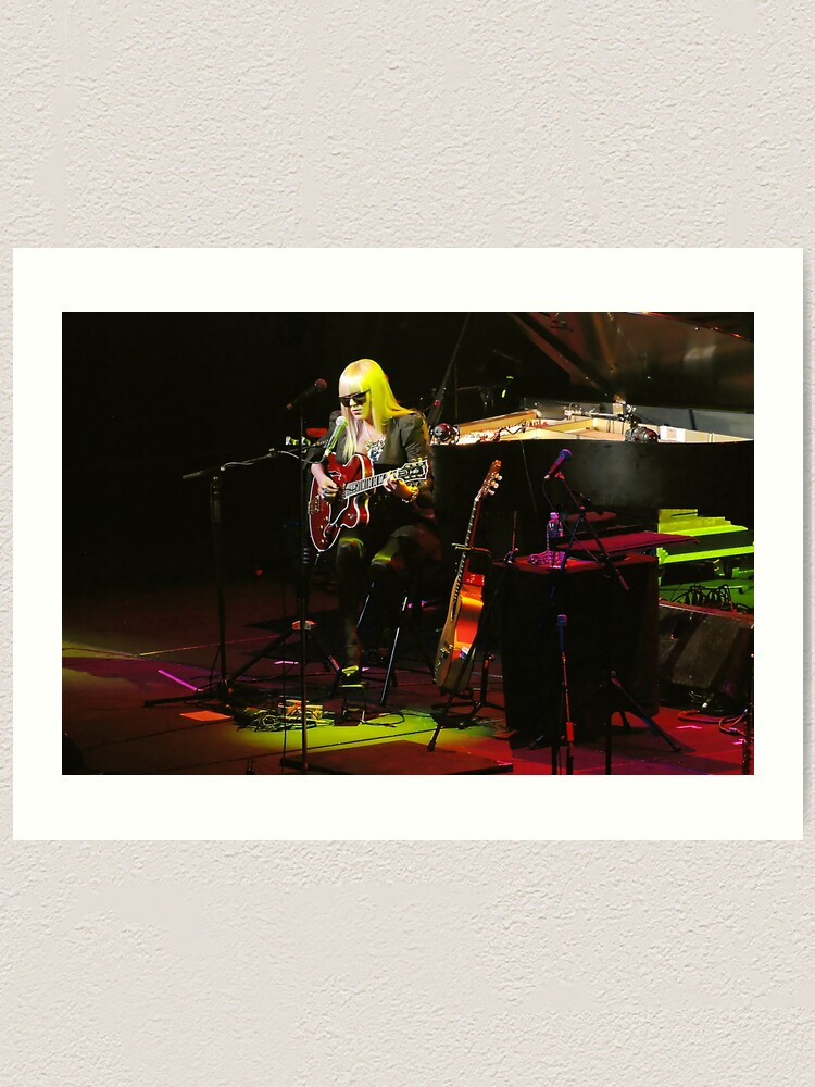 Alternate view of Melody Gardot in concert Art Print