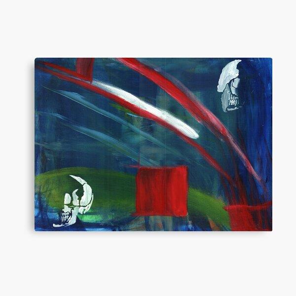 Splitting Headache Canvas Print