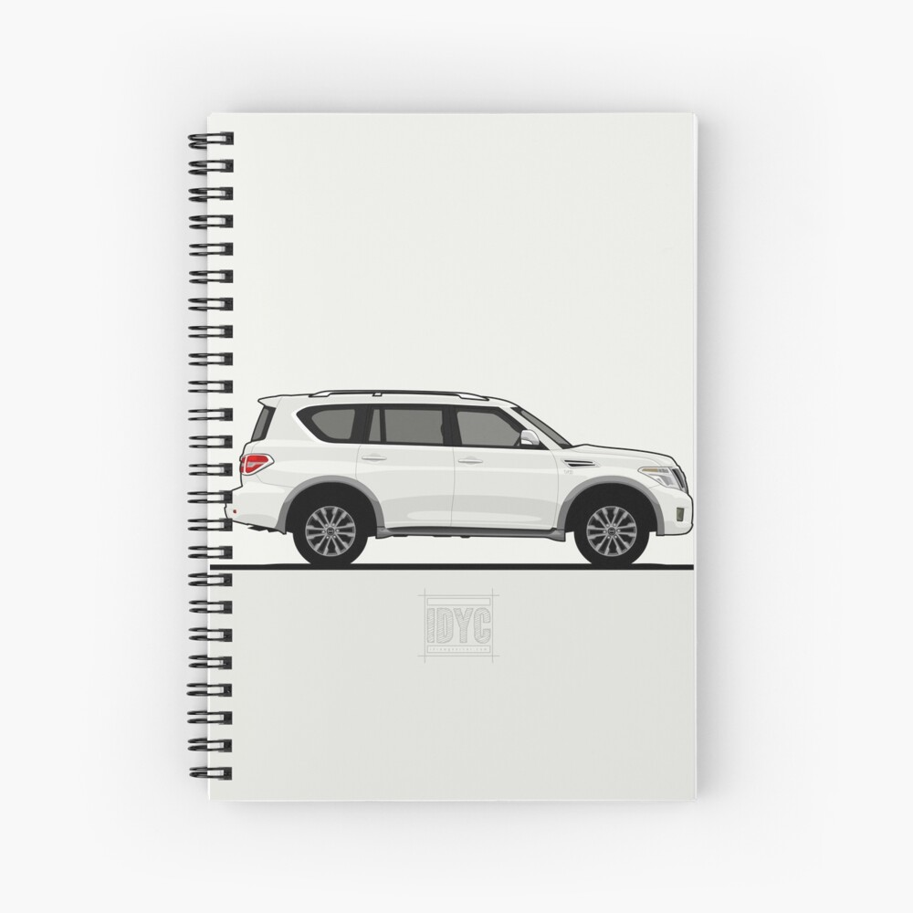 Visit idrewyourcar.com to find hundreds of car profiles! Spiral Notebook