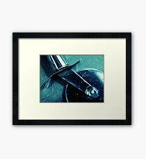 It's Been A Slice Framed Print
