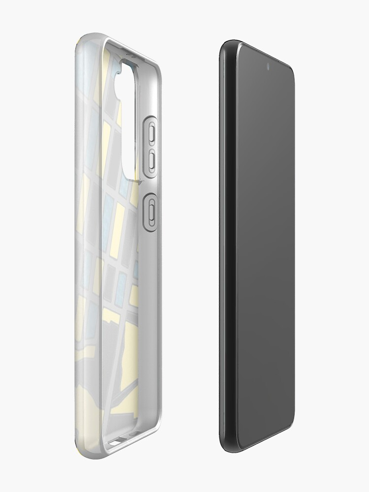 Alternate view of Crescent Town, Toronto Case & Skin for Samsung Galaxy