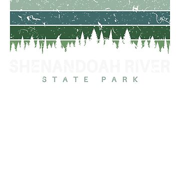 Shenandoah River State Park Virginia Souvenirs VA Vintage by fuller-factory