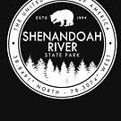 Shenandoah River State Park Virginia Souvenirs VA Vintage by Skylar Harris