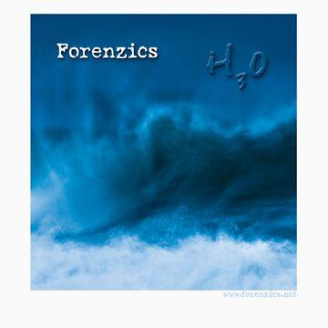 Forenzics - H3O Album Cover by Forenzics