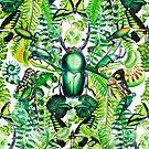 Malachite pattern von Nalini Biggs
