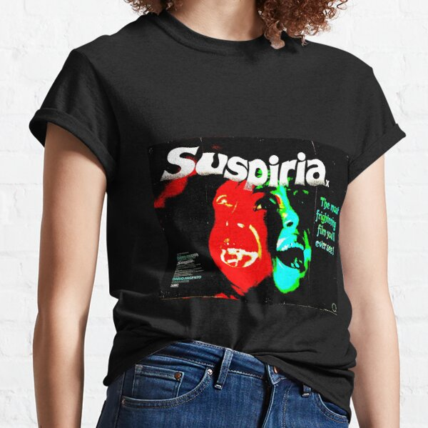 SUSPIRIA 1977 HORROR MOVIE! Classic T-Shirt