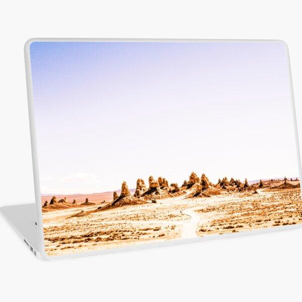 Mystery Planet - Trona Pinnacles Tufa Spires California Laptop Skin