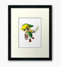 Link Windwaker Framed Print