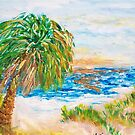 Heavenly Palm  by Mary Sedici