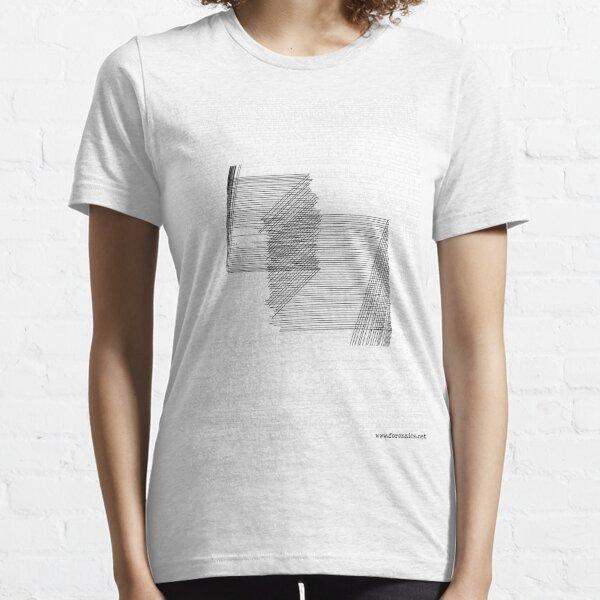 Forenzics - Static and Silence Big White Essential T-Shirt