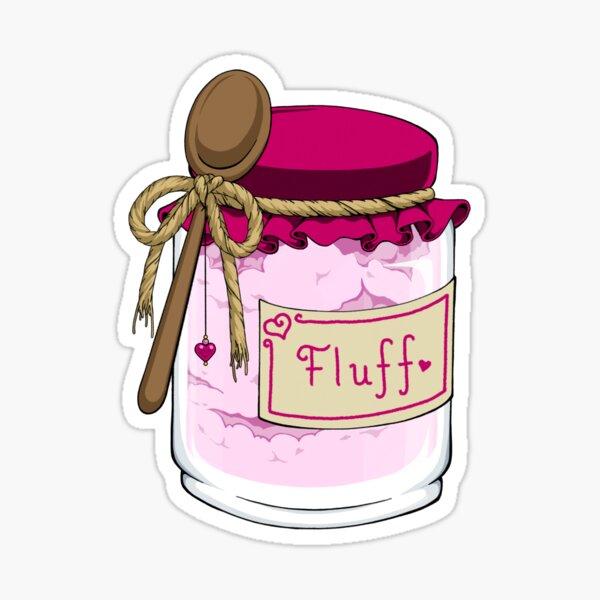 Fluff is My Jam Sticker