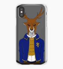 Evil corporate Deer  iPhone Case/Skin