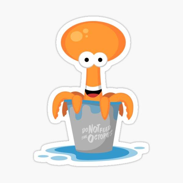 Tako the Octopus Sticker