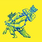 Martial Arts - Way of Life #3 - Fox vs Lynx flying armbar - jiu jitsu, bjj submissions by undersideland