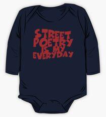 Street Poetry Is My Everyday One Piece - Long Sleeve
