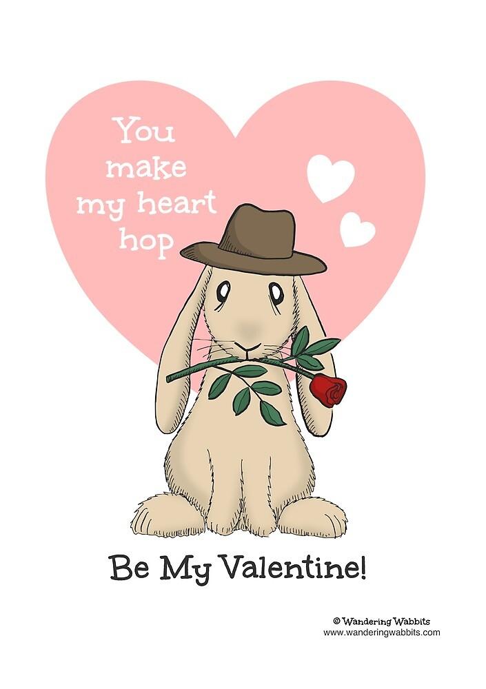 You make my heart hop by wanderingwabbit